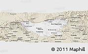 Classic Style Panoramic Map of Kumanovo
