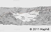Gray Panoramic Map of Kumanovo