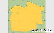 Savanna Style Simple Map of Staro Nagoricane