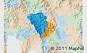 Political Map of Murgasevo, lighten
