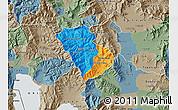 Political Map of Murgasevo, semi-desaturated