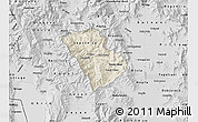Shaded Relief Map of Murgasevo, desaturated