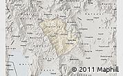 Shaded Relief Map of Murgasevo, semi-desaturated
