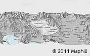 Gray Panoramic Map of Murgasevo