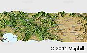 Satellite Panoramic Map of Murgasevo