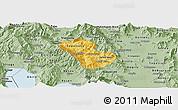 Savanna Style Panoramic Map of Murgasevo