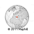 Outline Map of Demir Kapija