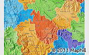 Political Shades Map of Negotino