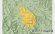 Savanna Style Map of Negotino