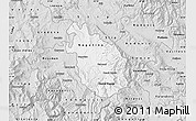 Silver Style Map of Negotino