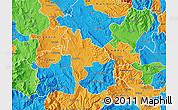 Political Map of Negotino