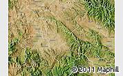 Satellite Map of Negotino