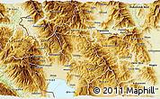 Physical 3D Map of Belcista