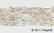 Classic Style Panoramic Map of Belcista