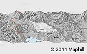 Gray Panoramic Map of Belcista