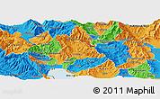 Political Panoramic Map of Belcista