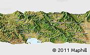 Satellite Panoramic Map of Belcista