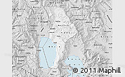 Silver Style Map of Ohrid