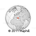 Outline Map of Prilep