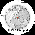 Outline Map of Probistip