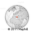 Outline Map of Konce
