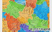 Political Shades Map of Radovis