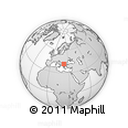 Outline Map of Radovis
