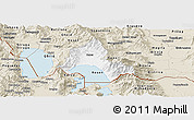 Classic Style Panoramic Map of Resen