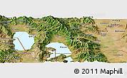 Satellite Panoramic Map of Resen