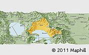 Savanna Style Panoramic Map of Resen