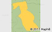 Savanna Style Simple Map of Kondovo
