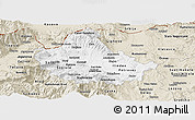 Classic Style Panoramic Map of Skopje