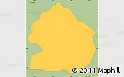Savanna Style Simple Map of Zelenikovo