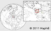 Blank Location Map of Delogozdi