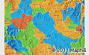 Political Map of Sveti Nikole
