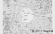 Silver Style Map of Sveti Nikole