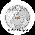 Outline Map of Sveti Nikole