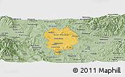 Savanna Style Panoramic Map of Sveti Nikole