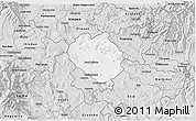 Silver Style 3D Map of Sveti Nokole