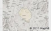 Shaded Relief Map of Sveti Nokole, semi-desaturated