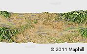 Satellite Panoramic Map of Sveti Nokole