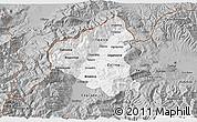 Gray 3D Map of Tetovo