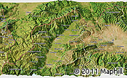 Satellite 3D Map of Tetovo
