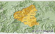 Savanna Style 3D Map of Tetovo