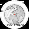 Outline Map of Kamenjane