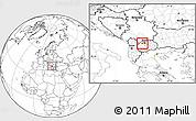 Blank Location Map of Zelino