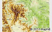 Physical Map of Caska