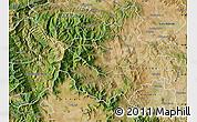 Satellite Map of Caska