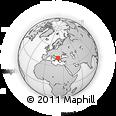 Outline Map of Caska