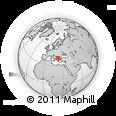 Outline Map of Gradsko